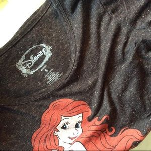 Disney Tops - SOLD Ariel Mermaid Soft Pocket Disney T-Shirt